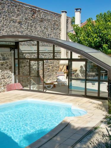 . Appartement de 2 chambres a Marseillan avec magnifique vue sur la ville piscine partagee jardin amenage a 6 km de la plage