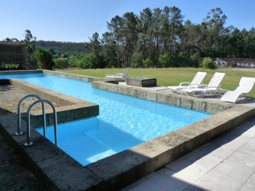 . House with 3 bedrooms in Sao Pedro do Sul with wonderful mountain view shared pool enclosed garden 70 km from the beach