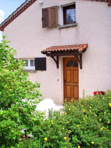 . House with one bedroom in CharbonnierlesMines with wonderful mountain view enclosed garden and WiFi