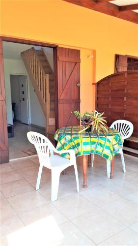 . Apartment with 2 bedrooms in Capesterre Belle Eau with enclosed garden and WiFi 8 km from the beach