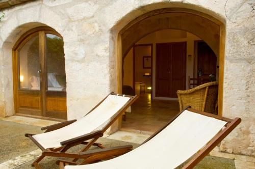 Double or Twin Room with Terrace Alcaufar Vell Hotel Rural & Restaurant 19