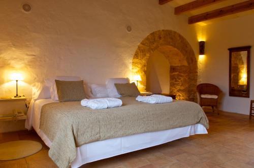 Suite Junior con terraza Alcaufar Vell Hotel Rural & Restaurant 6