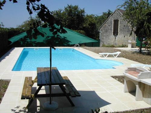 Maison de 2 chambres a Payrac avec piscine partagee jardin clos et WiFi - Location saisonnière - Payrac