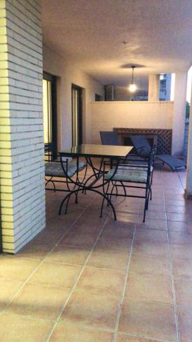 . Apartment with 2 bedrooms in Sant Jordi Castellon with wonderful city view shared pool enclosed garden 17 km from the beach