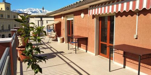 . Apartment with 2 bedrooms in Orsogna with wonderful sea view furnished terrace and WiFi 12 km from the beach