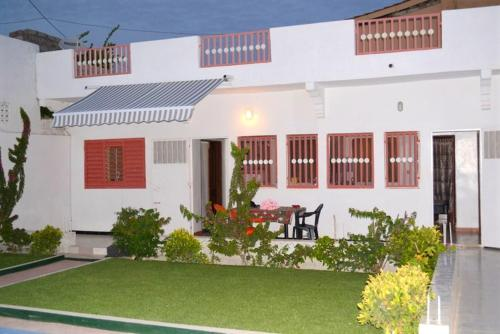 . Apartment with one bedroom in M'bour with shared pool enclosed garden and WiFi 2 km from the beach