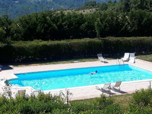 . Apartment with 2 bedrooms in Trivigno with wonderful mountain view shared pool furnished terrace