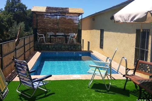 . Villa with 4 bedrooms in Caceres with private pool and enclosed garden