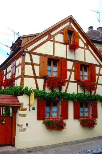 . Appartement de 2 chambres a Beblenheim avec jardin clos et WiFi