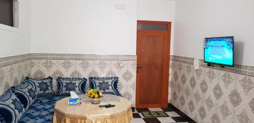. Apartment with 2 bedrooms in Al Hoceima with wonderful city view 800 m from the beach