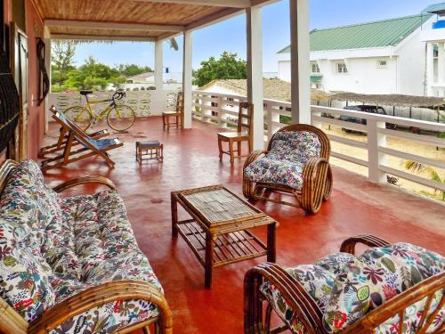 . Apartment with 2 bedrooms in Mahajanga with wonderful sea view and furnished terrace