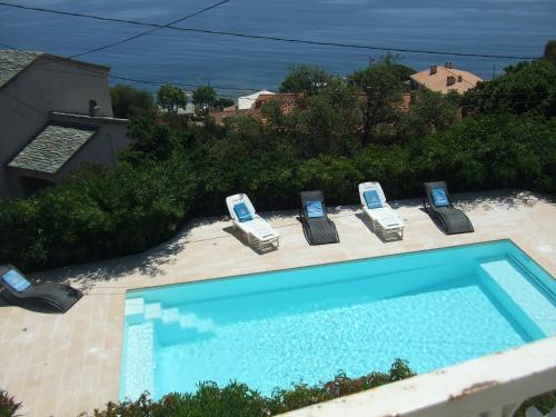 Apartment with 2 bedrooms in SantaMariadiLota with wonderful sea view private pool enclosed garden