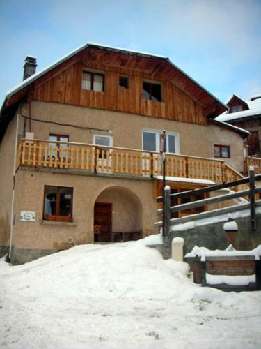 Property with 14 bedrooms in Vars with wonderful mountain view furnished terrace and WiFi 2 km from the slopes Vars