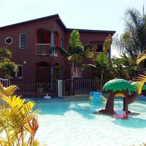 . Appartement de 2 chambres a Avirons avec piscine partagee jardin clos et WiFi a 6 km de la plage