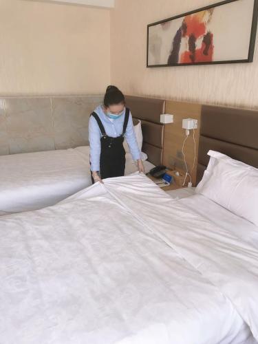 Qingzhu Yuexiang Hotel (Hancheng East Second Ring Huayu Jiayuan Branch) Weinan