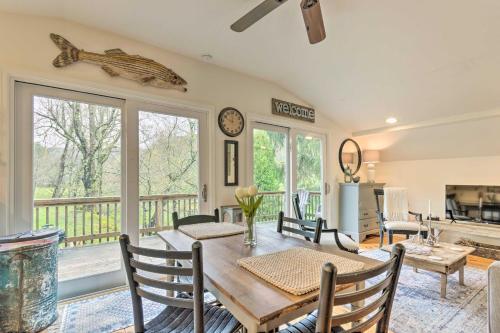 Modern Farmhouse Duplex by Stream, 4 Mi to Boone! - Apartment - Blowing Rock