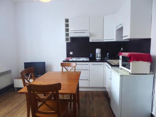Appartement d'une chambre a Vannes avec magnifique vue sur la ville a 3 km de la plage - Location saisonnière - Vannes