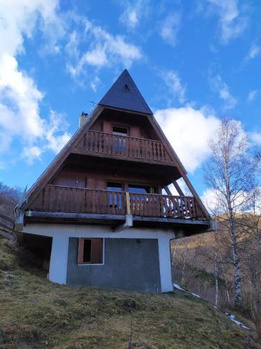 Chalet de 2 chambres a Saint Lary Soulan avec magnifique vue sur la montagne et balcon amenage - Saint-Lary Soulan