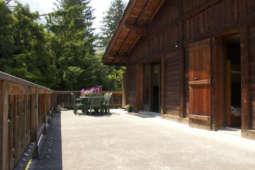 Chalet with 3 bedrooms in ChamonixMontBlanc with wonderful mountain view furnished terrace and WiFi 200 m from the slopes Chamonix
