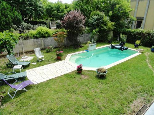 Apartment with 2 bedrooms in Sommieres with shared pool furnished garden and WiFi 10 km from the beach - Location saisonnière - Sommières