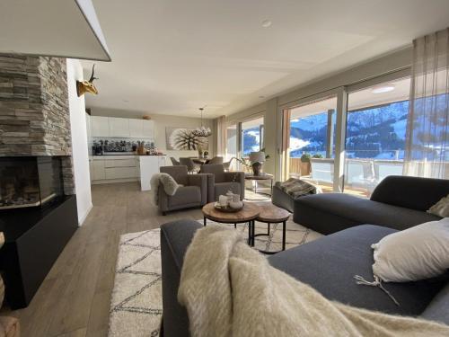 Chalet Alpenrose - Apartment - Adelboden