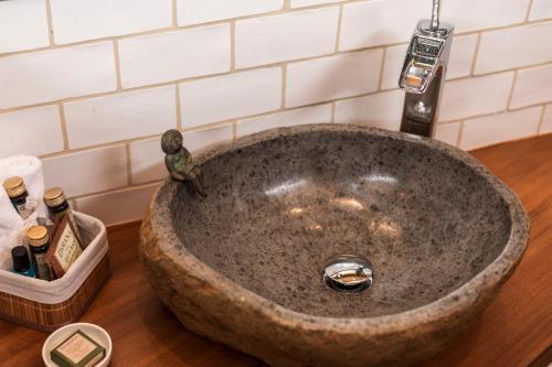 Habitación Doble Deluxe con bañera Hotel Mas la Ferreria 7