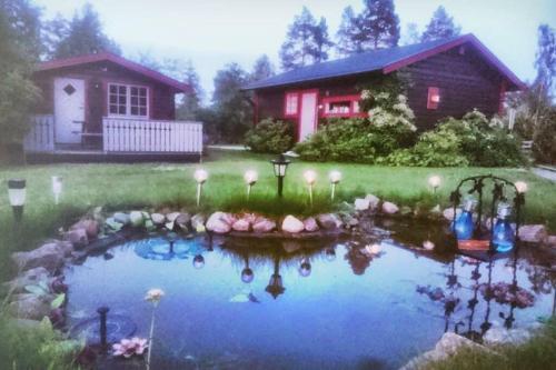 Cosy Cabin close to beach,Alnö - Accommodation - Sundsvall