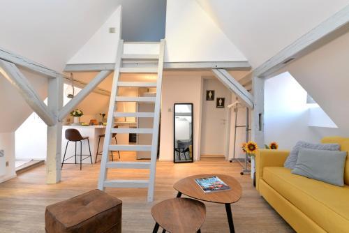 Appartement La petite terrasse sur les toits - Location saisonnière - Colmar