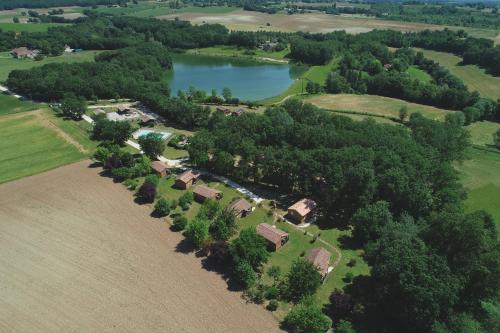 Les chalets de Dordogne - Camping - Razac-d'Eymet