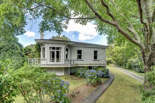 Elegant Villa Nestled In The Trees - Accommodation - Nelson