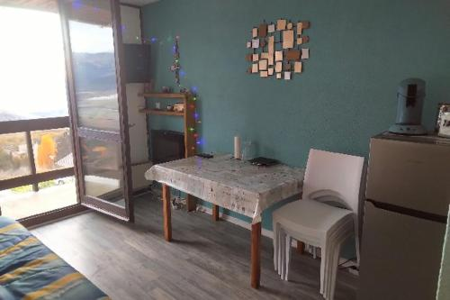 Studio cabine avec vue sur la Cerdagne Font Romeu