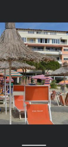 Apartment with sea view balconynear Fafa resort Golem