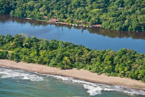 One mile north of Tortuguero City, 6941, Costa Rica.