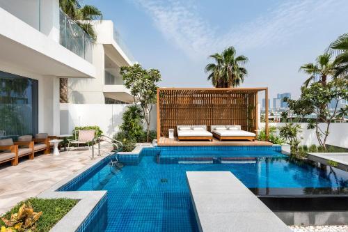 Five Palm Beach Villa with Private Pool