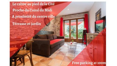 L'atypique du 36 rue trivalle N°1 - Location saisonnière - Carcassonne