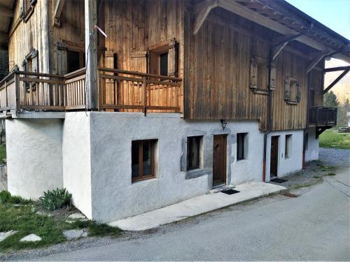 Appartement dans ferme rénovée au cœur du Grand Massif Sixt Fer à Cheval