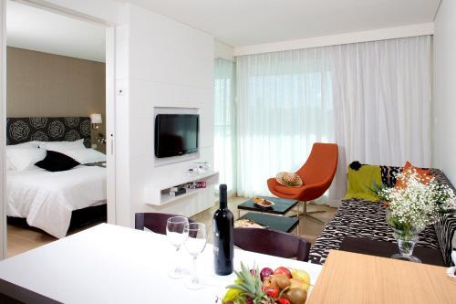 West All Suites Hotel Ashdod Oda fotoğrafları