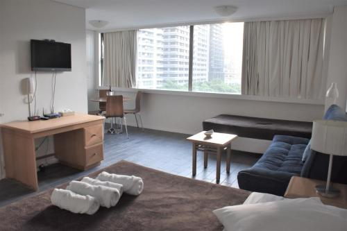 Accommodation Sydney City Centre - Hyde Park Plaza Park View College Street Studio Apartment - image 1