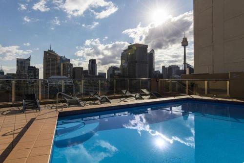Accommodation Sydney Studio with balcony apartment - image 9