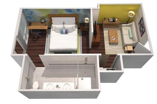 One King Penthouse Studio