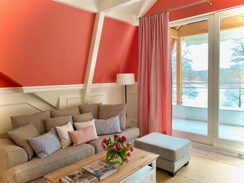 . Ferienwohnung Carlotta in der Villa Seeblick
