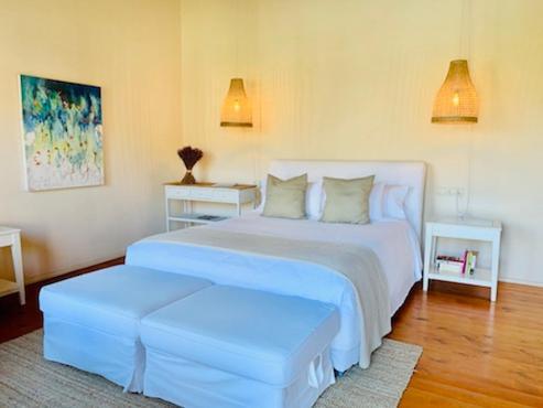 Doppelzimmer mit Terrasse Hotel Masia La Palma 9