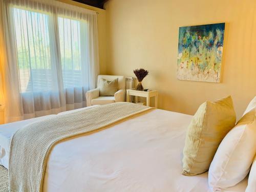 Doppelzimmer mit Terrasse Hotel Masia La Palma 10