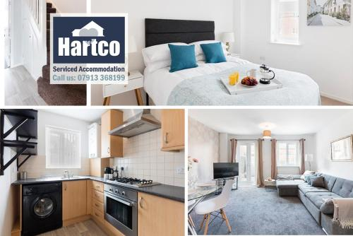 """. """"Book Today"""" - 4 bed house, Sleeps up to 10, Free wifi, Perfect for Family & Business Travelers - Hartco Serviced Accommodation Walsall"""