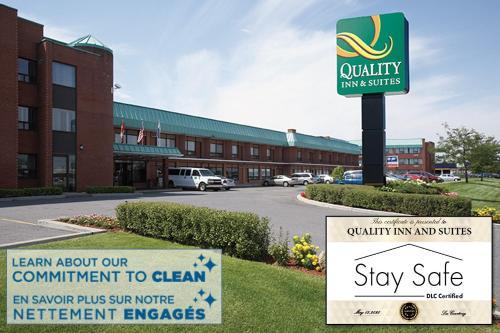 Quality Inn&Suites Aéroport P.E. Montréal-Trudeau Airport - Hotel - Dorval