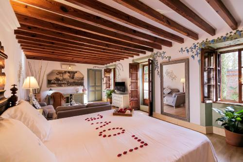 Junior Suite with Terrace - single occupancy Hotel Finca Ca N'ai - Adults Only 5