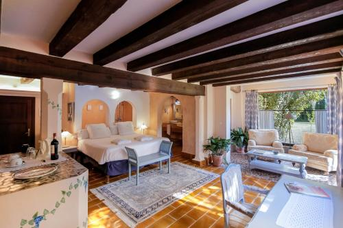 Junior Suite Premium With Terrace   - single occupancy Hotel Finca Ca N'ai - Adults Only 7