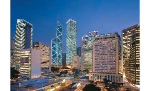 Mandarin Oriental Hong Kong фотографии номера