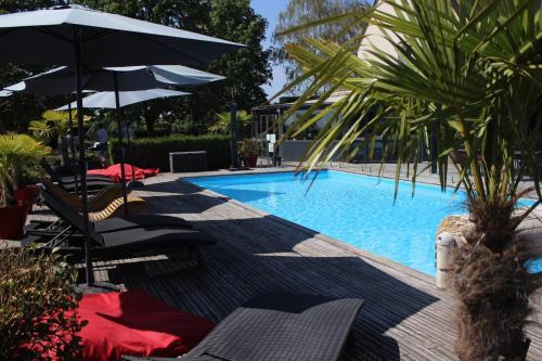 Les Terrasses de Saumur - Hôtel & Appartements - Restaurant & Spa (Logis) - Hôtel - Saumur