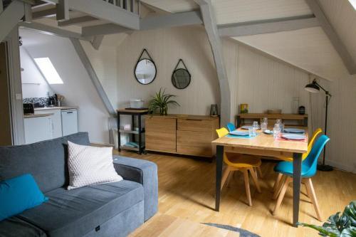 CHRYSALIDE, superbe appartement duplex sur le Port de Vannes - Location saisonnière - Vannes